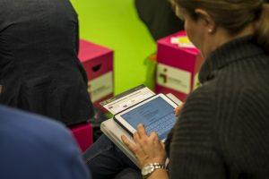 Teilnehmer entwickeln ihre starke Marke mit dem Rheinstrategie Markenmodell