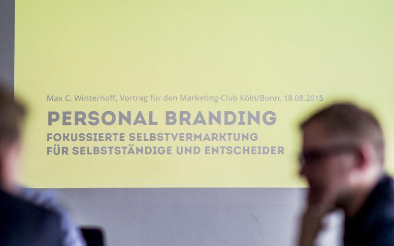 Vortrag zu Personal Branding: Rheinstrategie sorgt für ein volles Haus im Startplatz