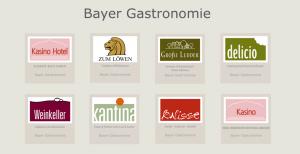 Submarken von Bayer Gastronomie